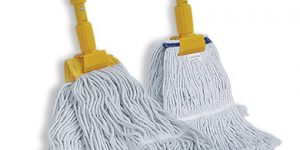 Standard and luxury clamping mop
